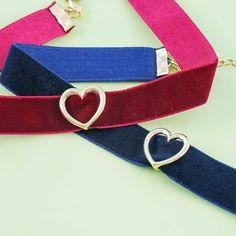 Lovely Heart Choker - Blippo Kawaii Shop