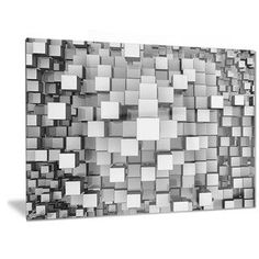Shop for Designart 'Black and Grey Cubes' Contemporary Metal Wall Art. Get free delivery at Overstock - Your Online Art Gallery Shop! Get in rewards with Club O! Contemporary Metal Wall Art, Large Metal Wall Art, Metal Artwork, Thing 1, Colorful Wall Art, Wall Sculptures, Metal Walls, Lovers Art, Canvas Art Prints