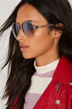 Who's That Sky Aviator Shades | Shop Accessories at Nasty Gal!