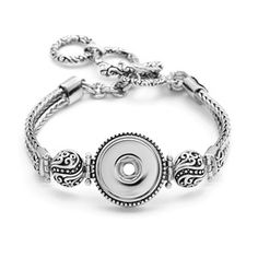 Magnolia and Vine Snap Jewelry, Arabesque Bracelet #S1301 available at MyStyleInASnap.com - BUY 4 SNAPS, GET 1 FREE! Want it all at a discount? Join us and buy it all at consultant prices! (You can even sell to your friends for some extra cash!)