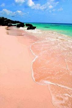 Pink Sand Beach, Bermuda, Caribe