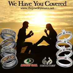 Unique Custom Rings, Wedding Bands and Jewelry USA Made by RenaissanceJewelry - beautiful wedding rings Camo Engagement Rings, Camo Wedding Rings, Wedding Ring Bands, Wedding Engagement, Camo Promise Rings, Camo Rings, Camo Jewelry, Jewelry Rings, Custom Jewelry