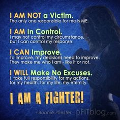 Positive self talk.