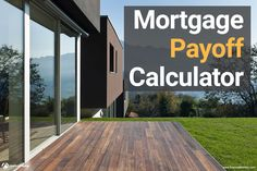 This mortgage payoff calculator shows you how much interest you save by making extra payments - calculates for any early payoff date you want...
