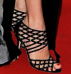 #Jimmy Choo Black Strappy