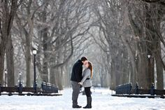Kristin & Matt, Central Park New York Anniversary Session ©2010 Jennifer Kathryn Photography