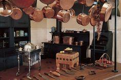 Dungeon Kitchen?: Biltmore house- basement- main kitchen