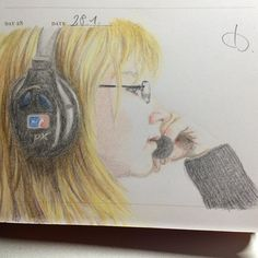 """An awesome Virtual Reality pic! """"Absorbed - About a life of a gamer"""" . . . . . #visualjournal #onesketchaday #drawing #hobby #hobbyartist #artinprogress #liveyourdreams #workhard #lifeisbeautiful #dailysketch #selfdiscovery #artlovers #inspired #365drawings #shaunidinspired #coloredpencil #sketch #OneSketchaDay #365daychallenge #gamer #headphones #minecraft #rocketleague #boys #gaming #virtualreality by julesdio check us out: http://bit.ly/1KyLetq"""