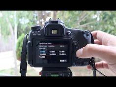 Canon 760D, vídeo, AF continuo y frames por segundo