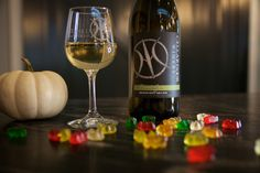 Halloween Pairings! Pinot Gris and Gummy Bears!