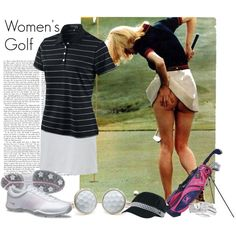 Women's Golf, created by niecy0214, this is funny and sexy all at the same time!