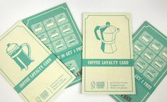 Coffee Loyalty Cards