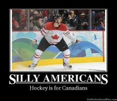 We kick butt a hockey. I dare someone on team America to challenge anyone on team canada to a hockey match and let's just wait and see who wins😏 Canada Funny, Canada Eh, Canadian Memes, Canadian Things, I Am Canadian, Canadian Humour, Hockey Memes, Hockey Goalie, Funny Stuff