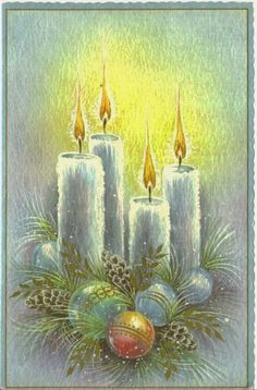 images of retro christmas cards Christmas Card Images, Vintage Christmas Images, Christmas Graphics, Old Christmas, Christmas Scenes, Christmas Candles, Retro Christmas, Christmas Pictures, Xmas Cards