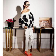 jenna lyons in le figaro madame Look Fashion, Autumn Fashion, Street Fashion, Jenna Lyons, Casual Chique, Dress Up, Looks Style, Mode Inspiration, Feminine Fashion