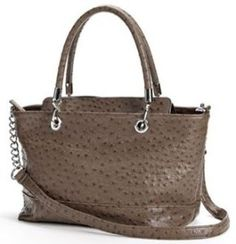 b7ce63f52bf8 #Mondani Baxter Ostrich Satchel, Final Price before taxes $28.90!  Michelle's Hot Deals