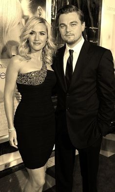 Kate Winslet and Leonardo DiCaprio. They are so enjoyable :)