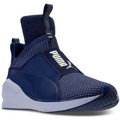 Puma Women s Fierce Velvet Casual Athletic Sneakers from Finish Line ( 110)  ❤ liked on 0fe534134