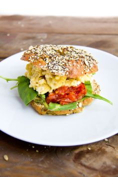 Pretzel Bagel Sandwich   Community Post: 19 Bagel Sandwiches You'll Want To Put A Ring On