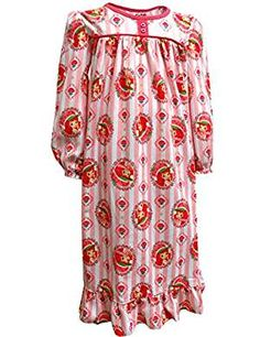 Strawberry Shortcake Traditional Nightgown Little. * You can get more details by clicking on the image. (This is an affiliate link) #Nightgowns
