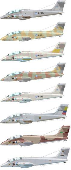 IA-58 Pucara operators