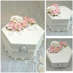 trinket box Shabby Box and Woods