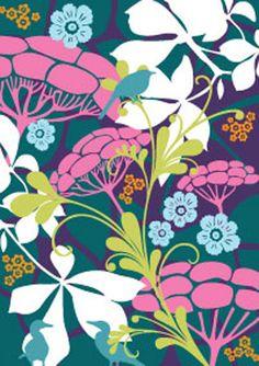 Hanna Werning Animal Flower Postcards