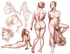 Portfolio: Figure Drawings 2 by peach-mork on DeviantArt