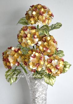 hydrengea from crystal dip flower For sale