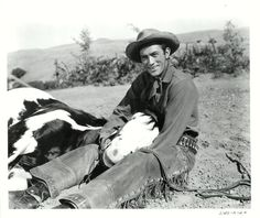 DUEL IN THE SUN (1946) - Jennifer Jones - Gregory Peck (pictured) - Joseph Cotten - Lionel Barrymore - Herbert Marshall - Lillian Gish - Walter Huston - Charles Bickford - Based on novel by Niven Busch - Directed by King Vidor - Selznick International - Publicity Still