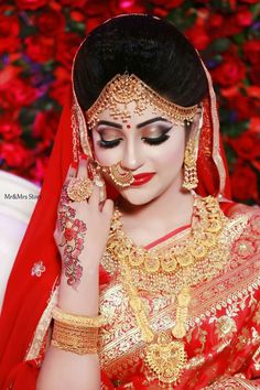 best camera for indian wedding photography Bengali Bridal Makeup, Bridal Hairstyle Indian Wedding, Indian Wedding Makeup, Indian Wedding Bride, Bridal Eye Makeup, Indian Bridal Outfits, Indian Bridal Hairstyles, Wedding Girl, Bridal Makeup Looks