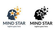 Mind Star Logo by tkent on @creativemarket