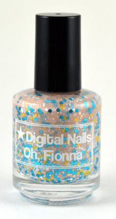 Oh, Fionna: a Digital Nails Nail lacquer inspired by Fionna the Human of Adventure Time