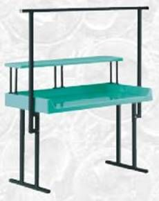 Exceptional Folding Table Hanging Rack