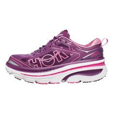 Allow me to introduce you to my newest footwear!  Women's Hoka One One Bondi 3 ... Like running on marshmallows!