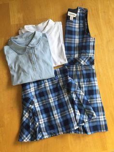School Uniforms: The ultimate kid capsule wardrobe! How I shop for school uniforms.