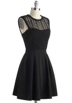 Adorable!  Starlit Statement Dress, #ModCloth