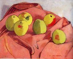Le mele verdi (Green apples) by Felice Casorati 1932