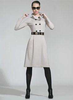 vestidos de inverno estilo militar