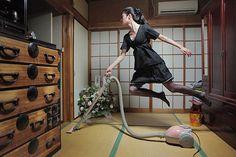 Levitating Photography by Natsumi Hayashi