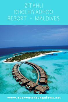 Maldives Water Villa, Overwater Bungalows, Resort Villa, Island Nations, Resorts, Tropical, Vacation Resorts, Beach Resorts, Vacation Places