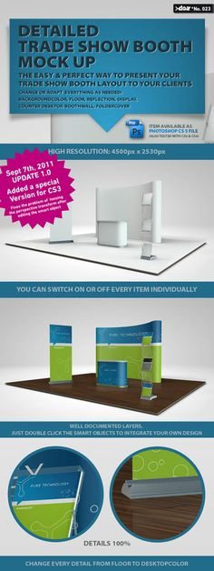 Trade Show Boot Mock up » Free Hero Graphic Design: Vectors AEP Projects PSD Sources Web Templates – HeroGFX.com