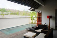 2 bedroom villa at The Decks Bali with private pool. #Bali #pool #villa #Legian #beach