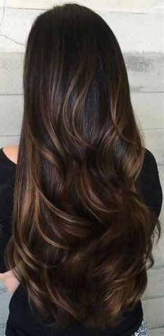 Znalezione obrazy dla zapytania cieniowane włosy długie 2017
