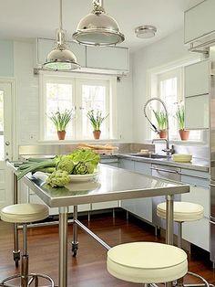 Stainless Steel Kitchen kitchen
