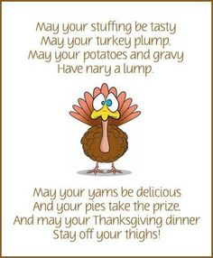 May Your Thanksgiving Be Great
