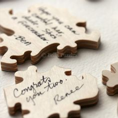 Bella Puzzles™ -- A Wedding Guest Book Alternative - Los Angeles