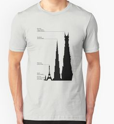 """""""Towering Sauron"""" T-Shirts & Hoodies by BowersC 