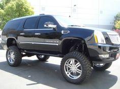 Lifted Cadillac Escalade ESV