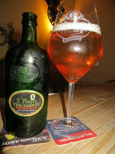 st.Peters the saints Whiskey Beer 4,8%,, another st.Peter's thats just not great at all ,a pity